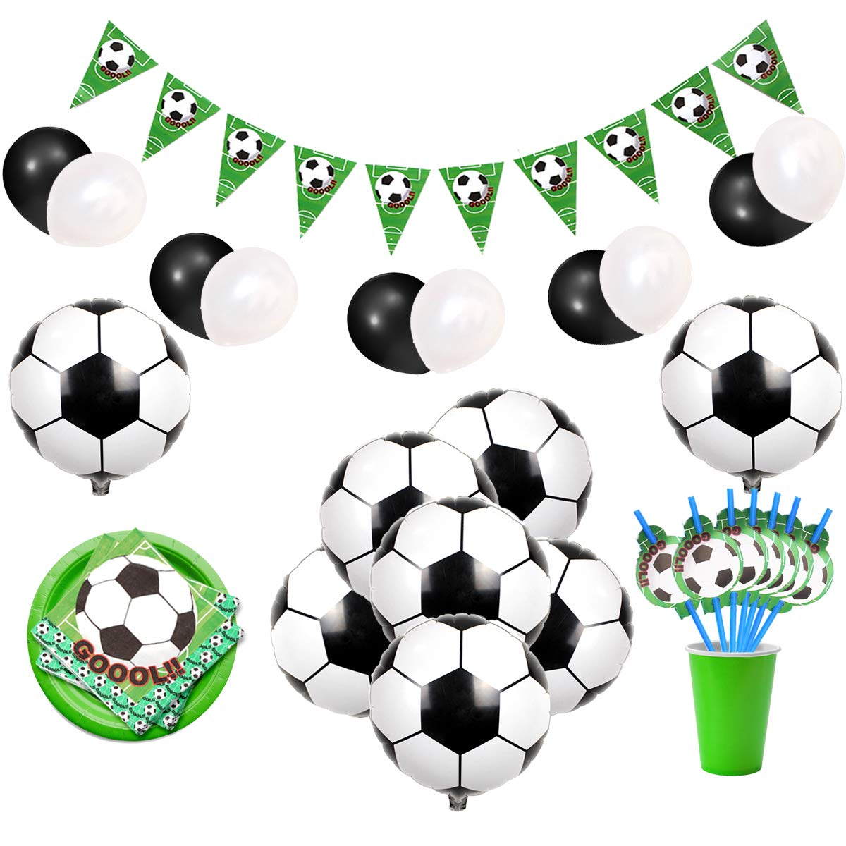 Amazon.com: Soccer Party Decorations Sports Themed Party.