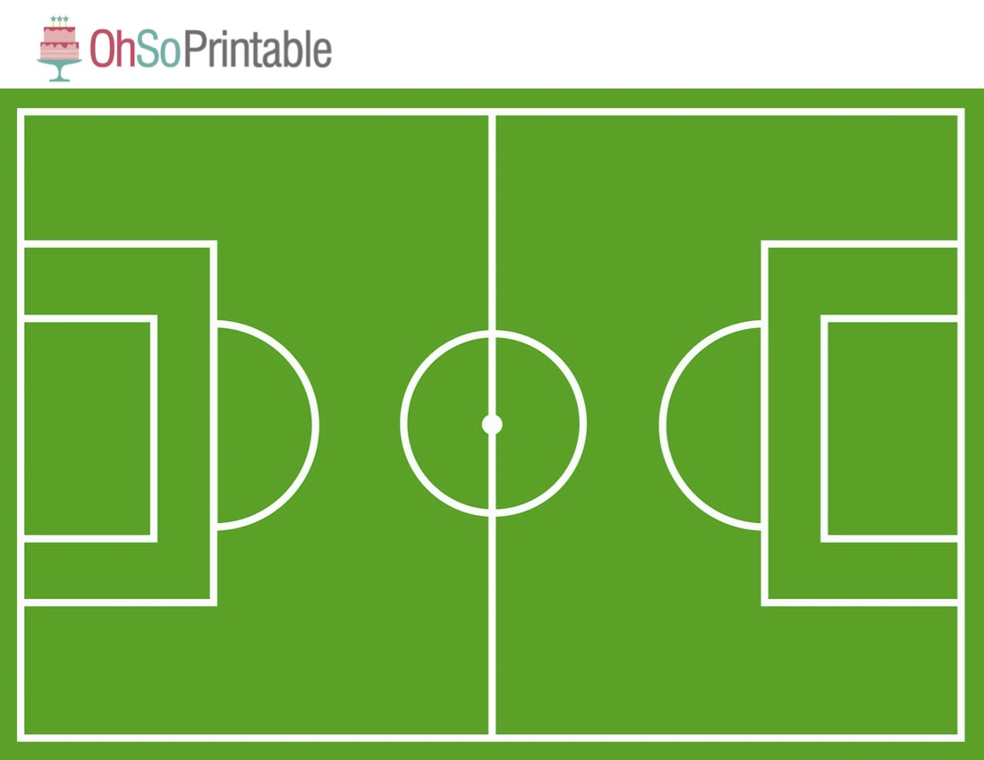 Free World Cup Soccer Printables from OhSoPrintable.
