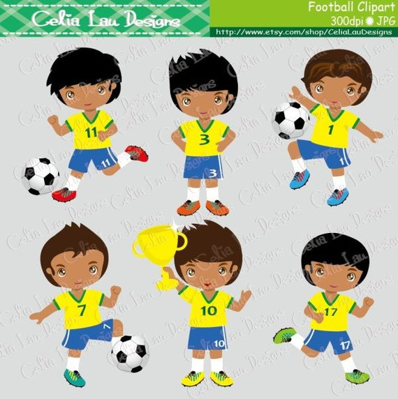 Football Party clipart , soccer party, Football Soccer clip.