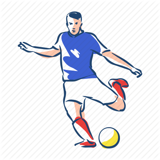 Football Player Icon at GetDrawings.com.