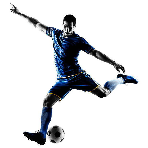 Soccer player PNG Images.