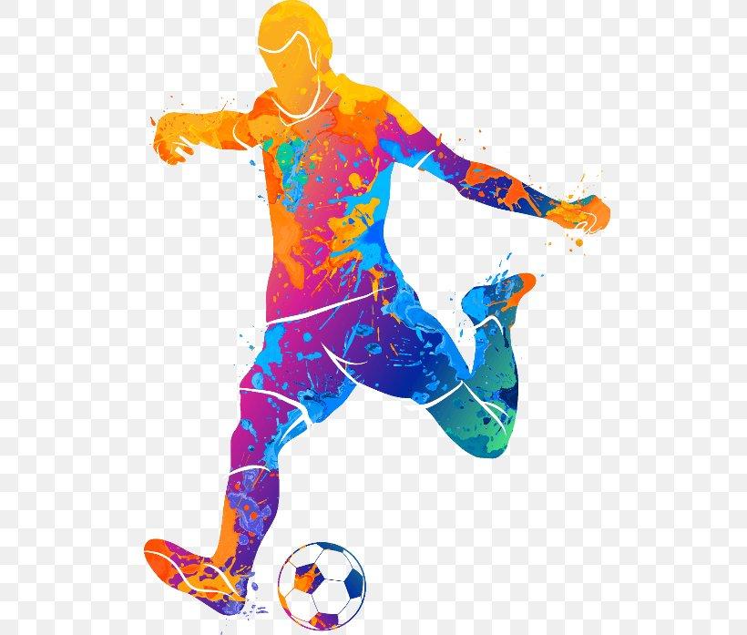 Football Player Vector Graphics Clip Art Illustration, PNG.