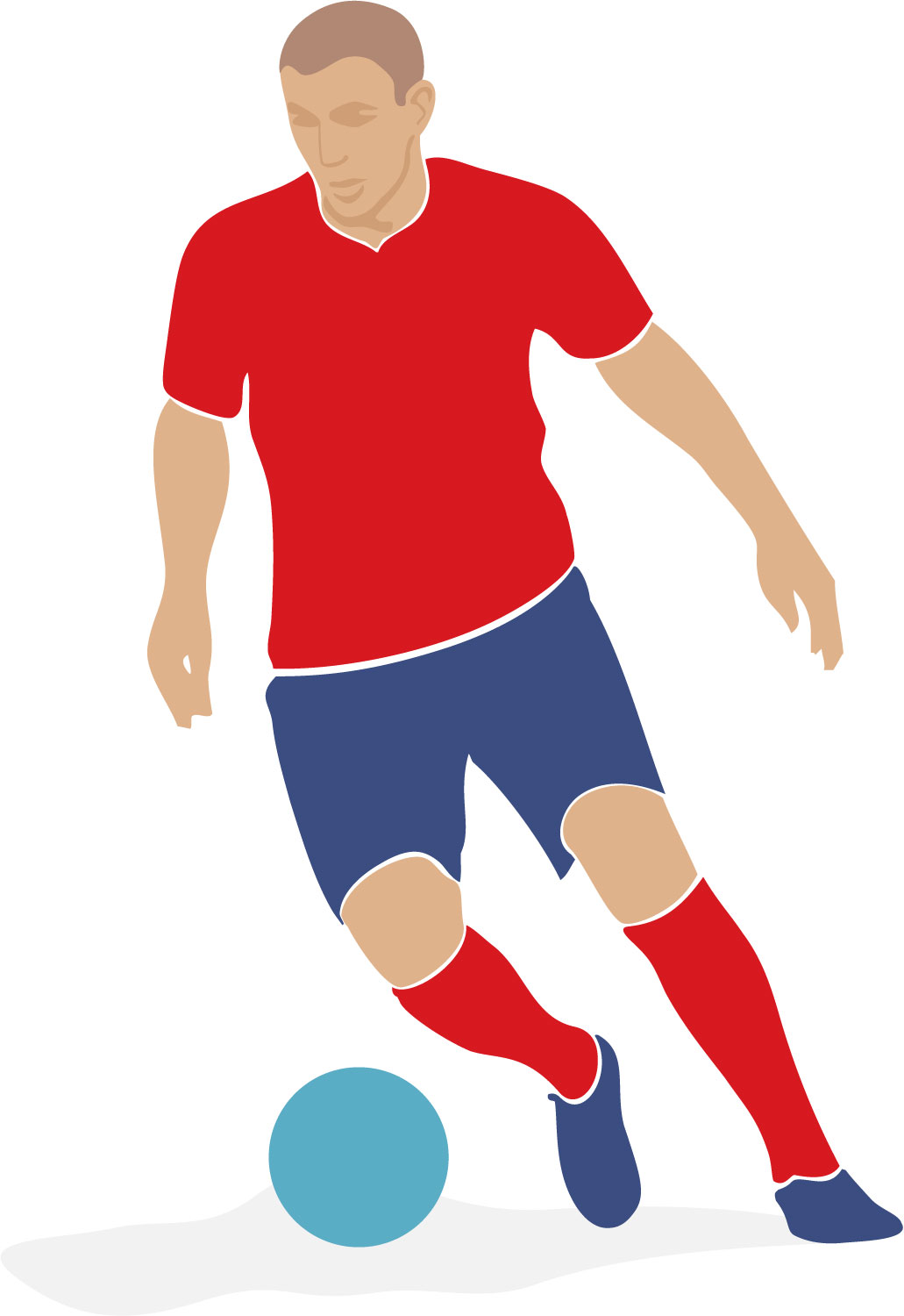 Soccer Players Hd Clipart.