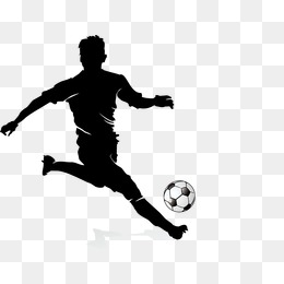 Football Player Silhouette, Soccer Playe #70088.