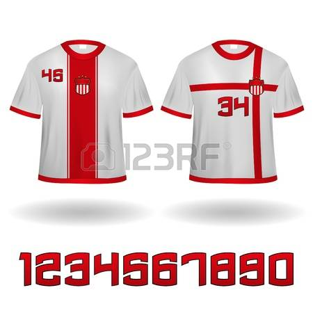 2,140 Soccer Jersey Stock Illustrations, Cliparts And Royalty Free.