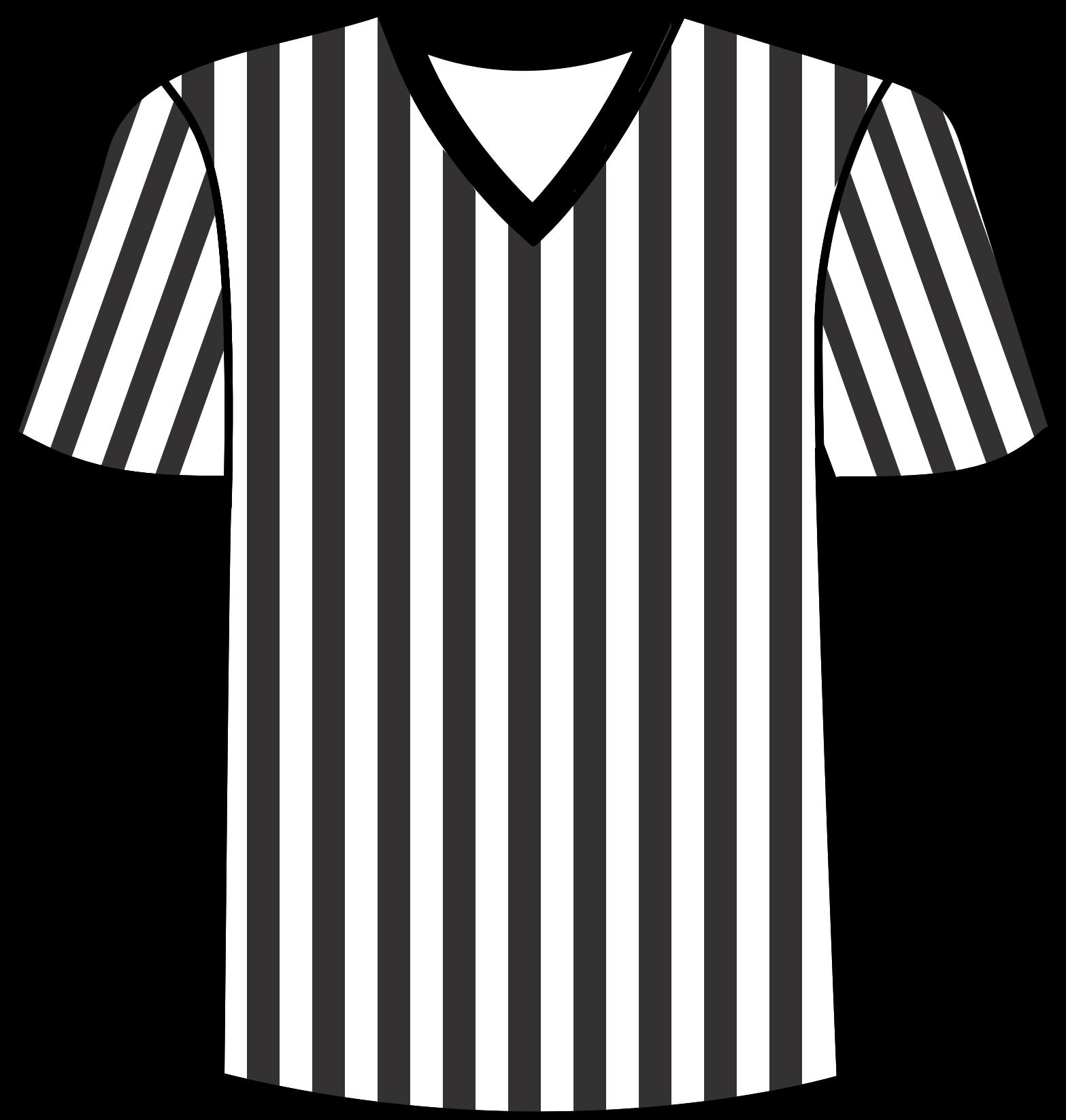 Soccer Referee Jersey Clip Art.