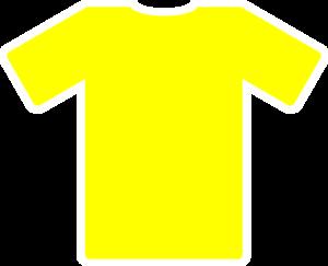Yellow Soccer Jersey Clip Art at Clker.com.