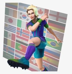 Girl Soccer Skins Fortnite , Png Download.