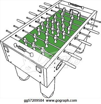 Table Soccer Clipart.