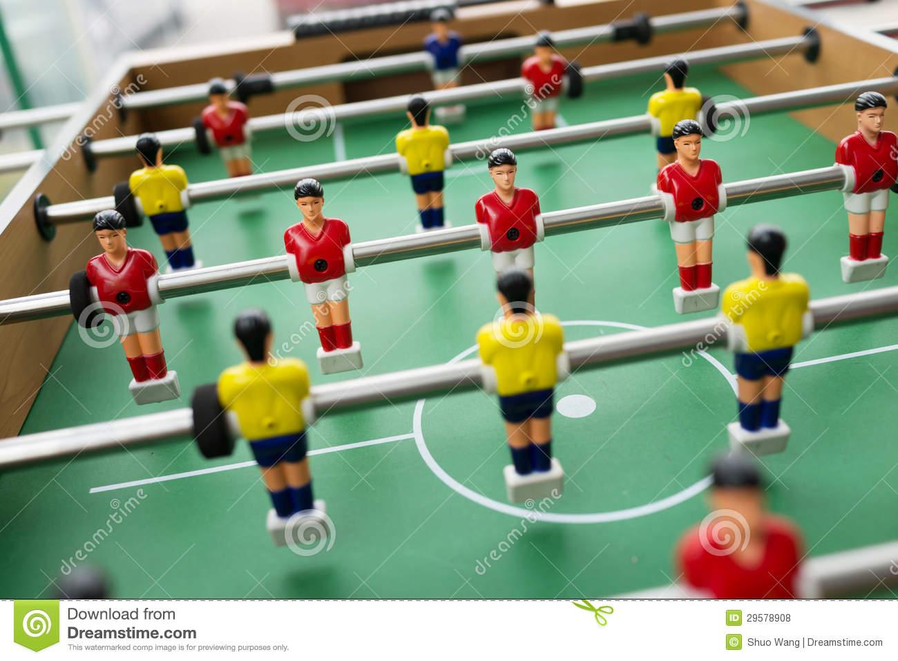 Table Soccer Royalty Free Stock Photos.