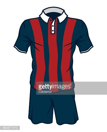 Football Soccer Jersey premium clipart.