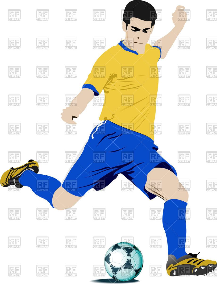 Soccer Clipart Vector.