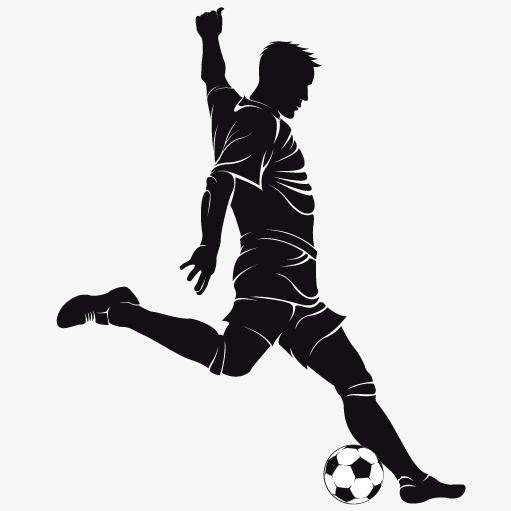 Man Playing Soccer, Man Vector, Soccer Vector, Soccer.