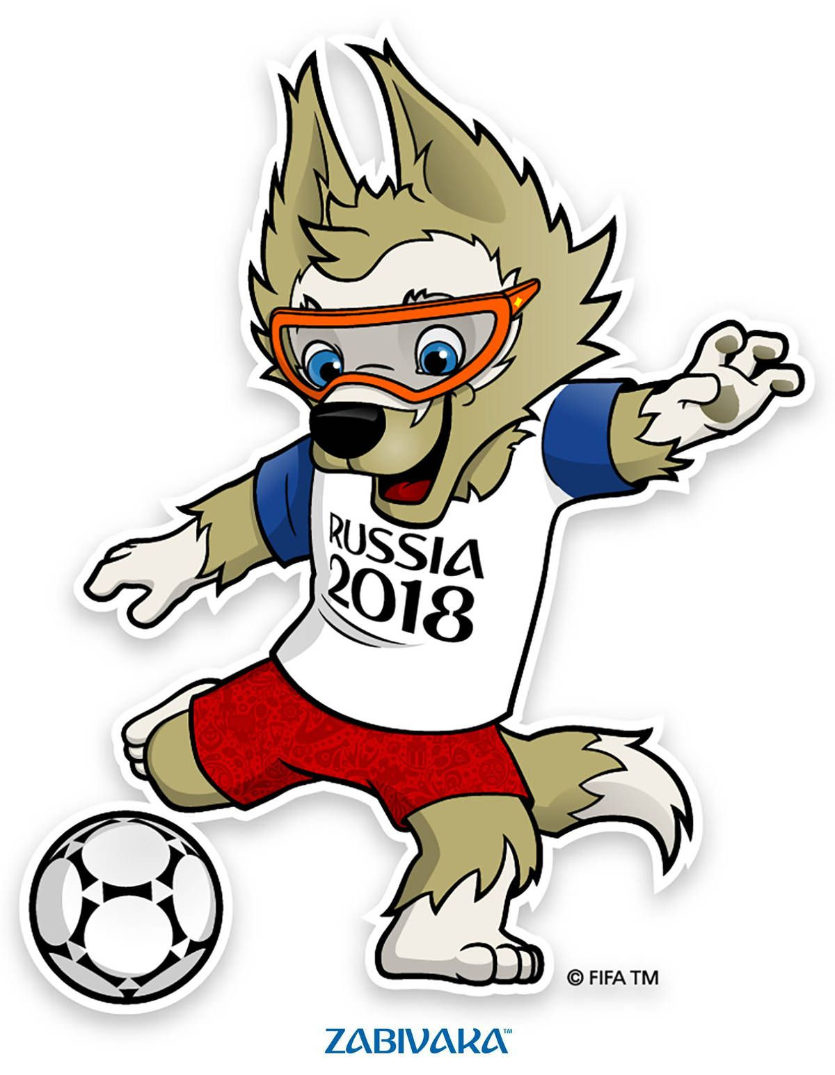 Das Panini WM 2018 Sticker.