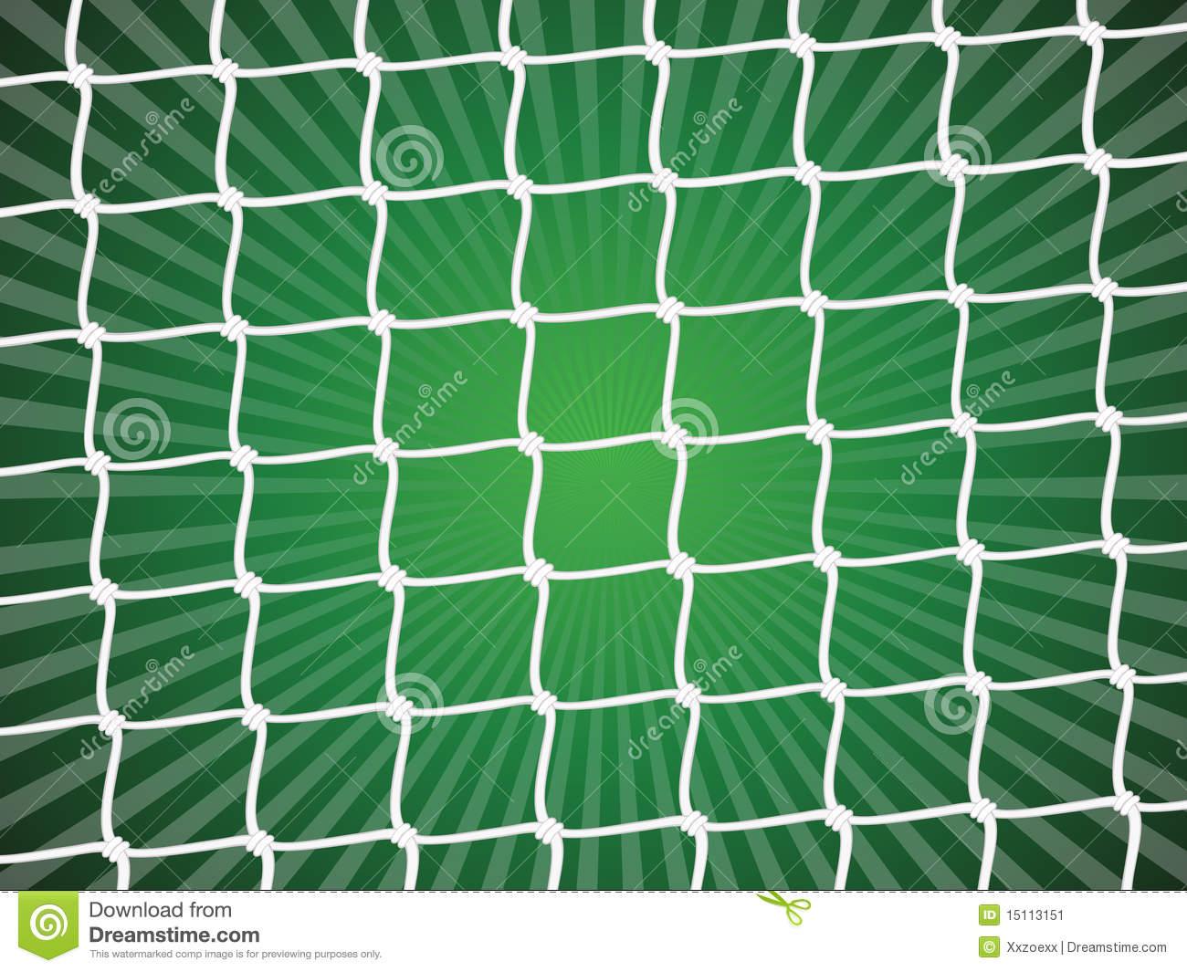 Soccer Net Background Stock Image.