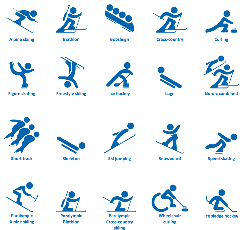 Winter olympic clipart.