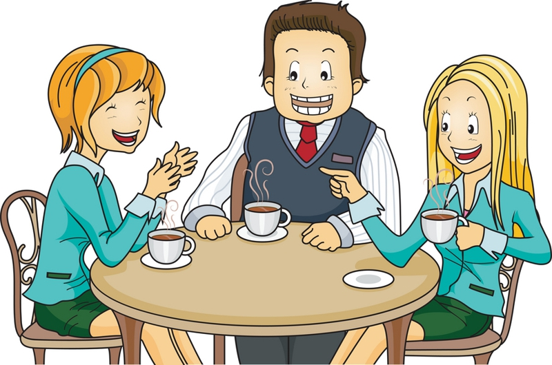 business lunch meeting clipart #10