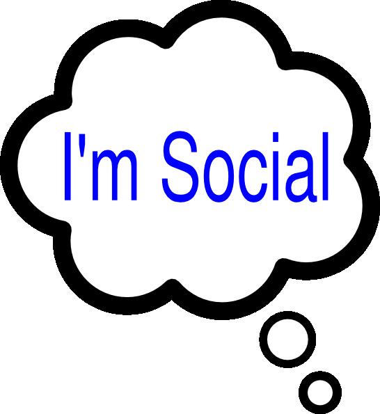 Im Social Thought Bubble Clip Art at Clker.com.