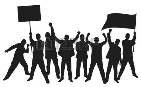 925 Protest Activist Stock Illustrations, Cliparts And Royalty.