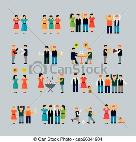 Social activity Vector Clip Art Illustrations. 2,693 Social.