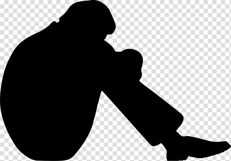 Silhouette Black, Outkast, Sadness, Depression, Social.