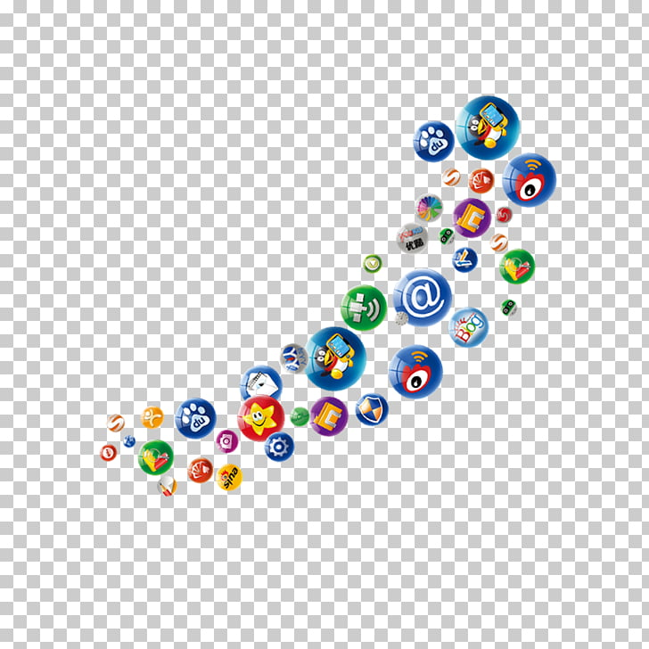 Social media Mobile app Social networking service Icon.