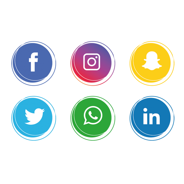 Social Media Icons Collection, Social Media Icons, Social.