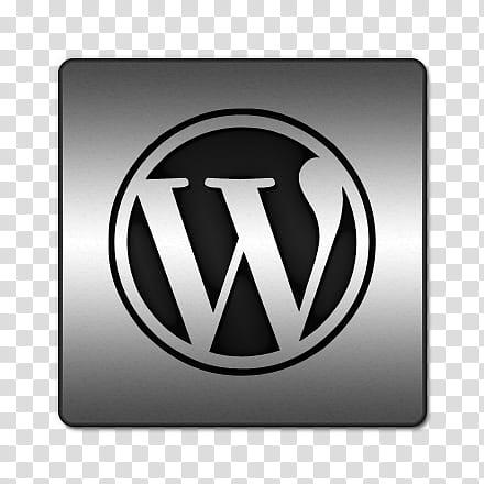 Silver Social Media Icons, iconsetc wordpress transparent.