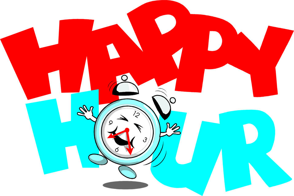 Happy Hour Clip Art N13 free image.