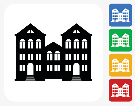 Multifamily Housing Clip Art, Vector Images & Illustrations.