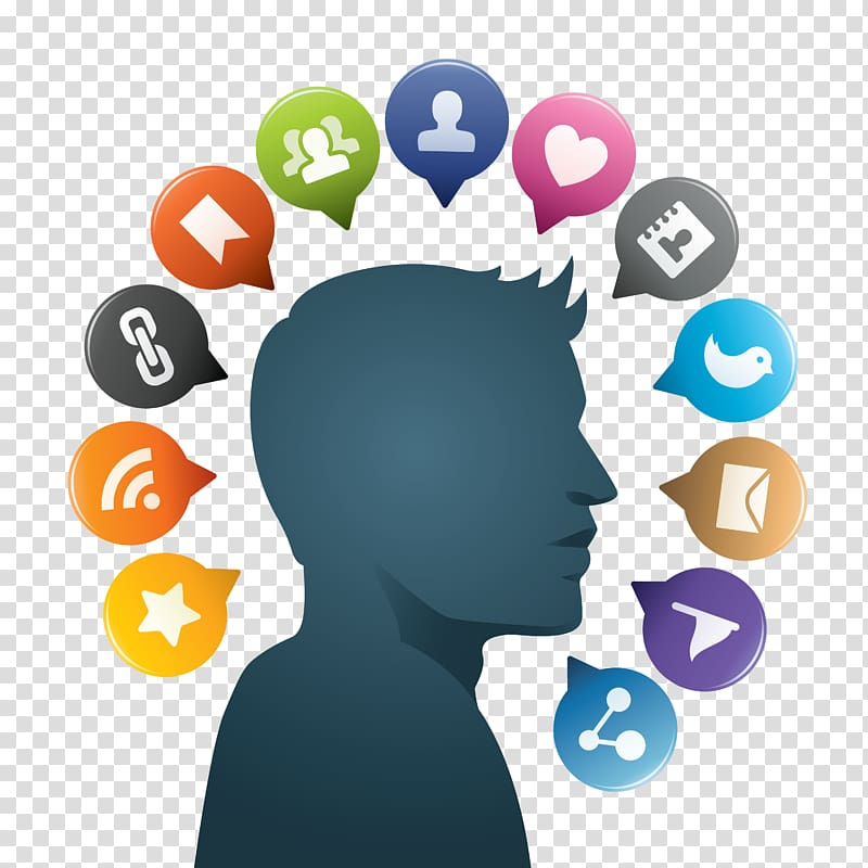 Social media Scalable Graphics Icon, Social Media Free.