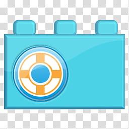 SocioLEGO Lego Social Icon Set, designfloat_lego_, blue film.