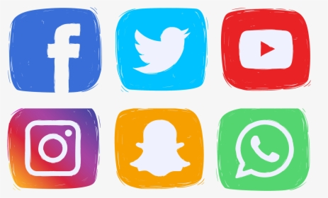 Social Media Icons Clipart , Png Download.