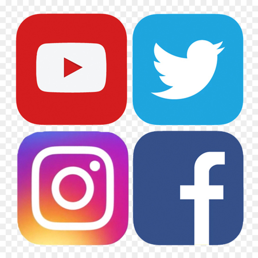 Facebook Social Media Icons png download.