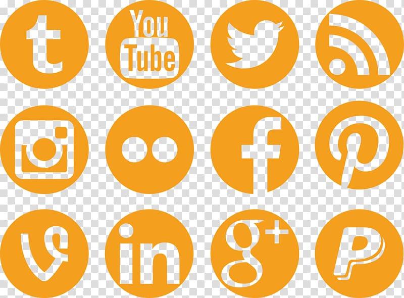 Youtube icon, Social media Logo, Social Icons transparent.