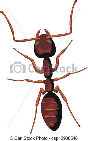 EPS Vector of ant.