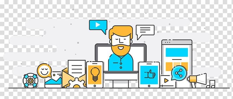 Digital marketing Web banner Social media marketing, others.