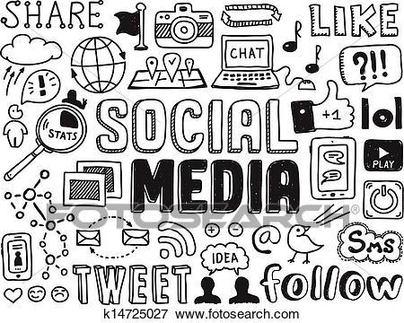 Social media clipart black and white 3 » Clipart Portal.