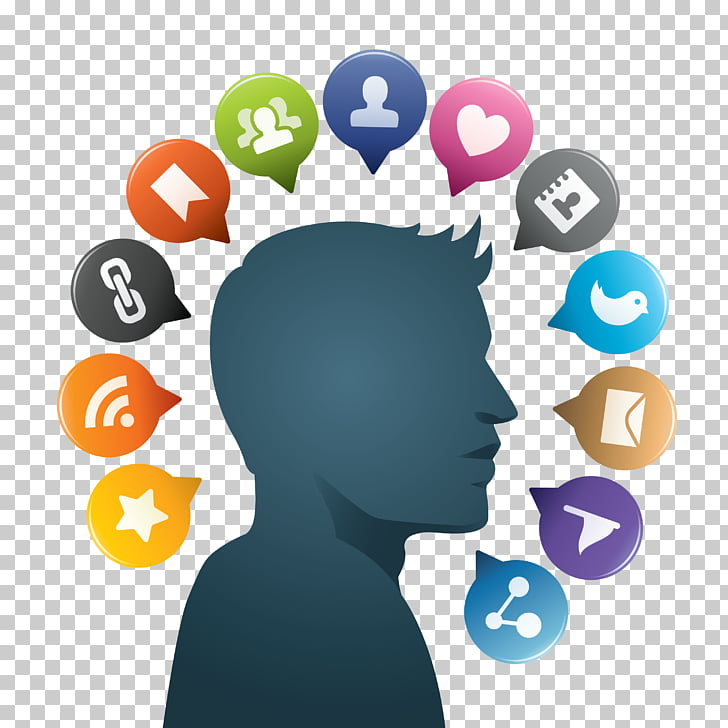 Social media Scalable Graphics Icon, Social Media Free PNG.