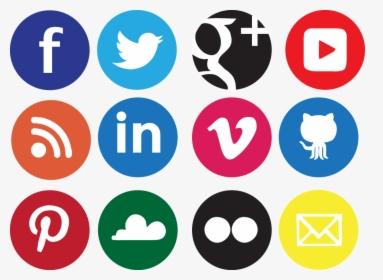 Social Media Icon Png Transparent.