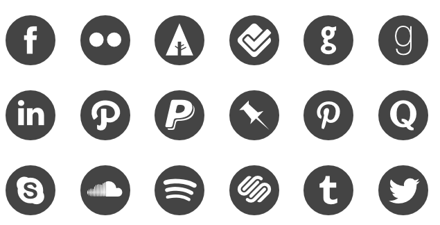The 25 Best Free Beautiful Social Media Icon Packs For 2019.