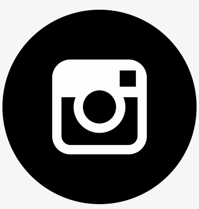 Social Media Icons Black Instagram.