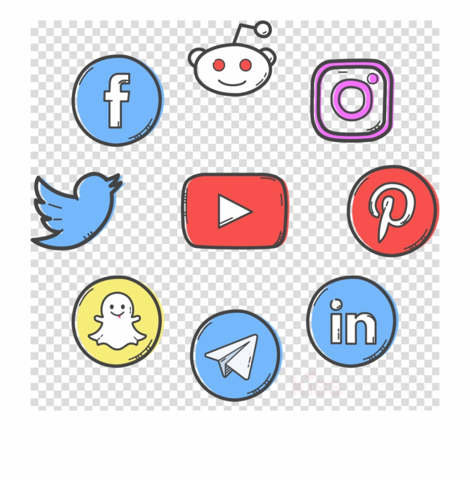 Download Social Media Logo Png Clipart Social Media.
