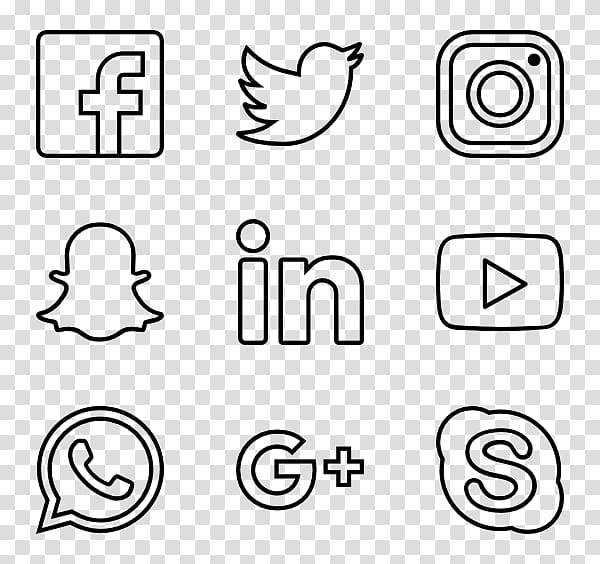 Computer Icons Encapsulated PostScript, social media icons.