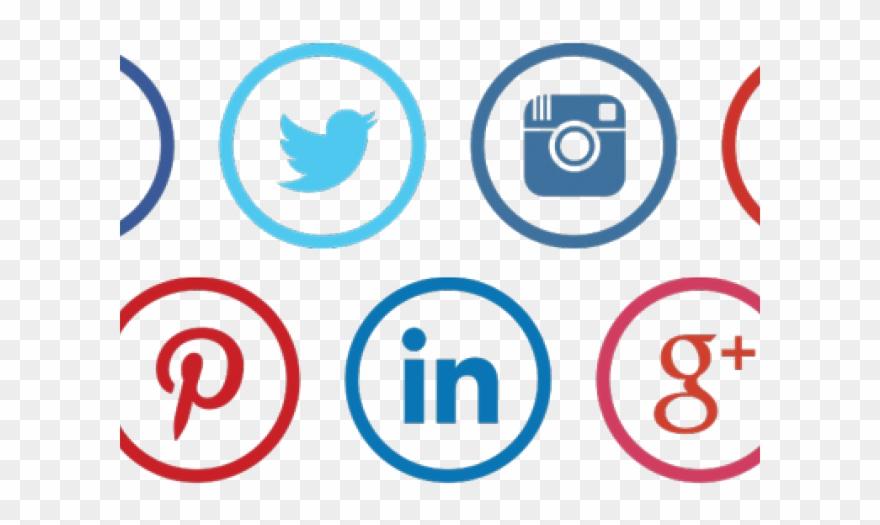 Social Media Icons Clipart Digital Media.