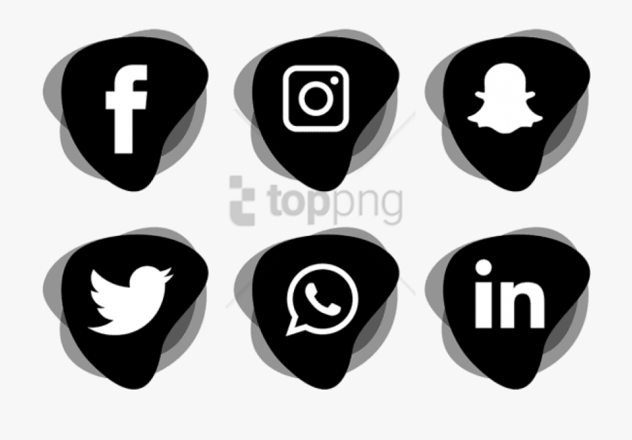 Social Media Clipart Vector.