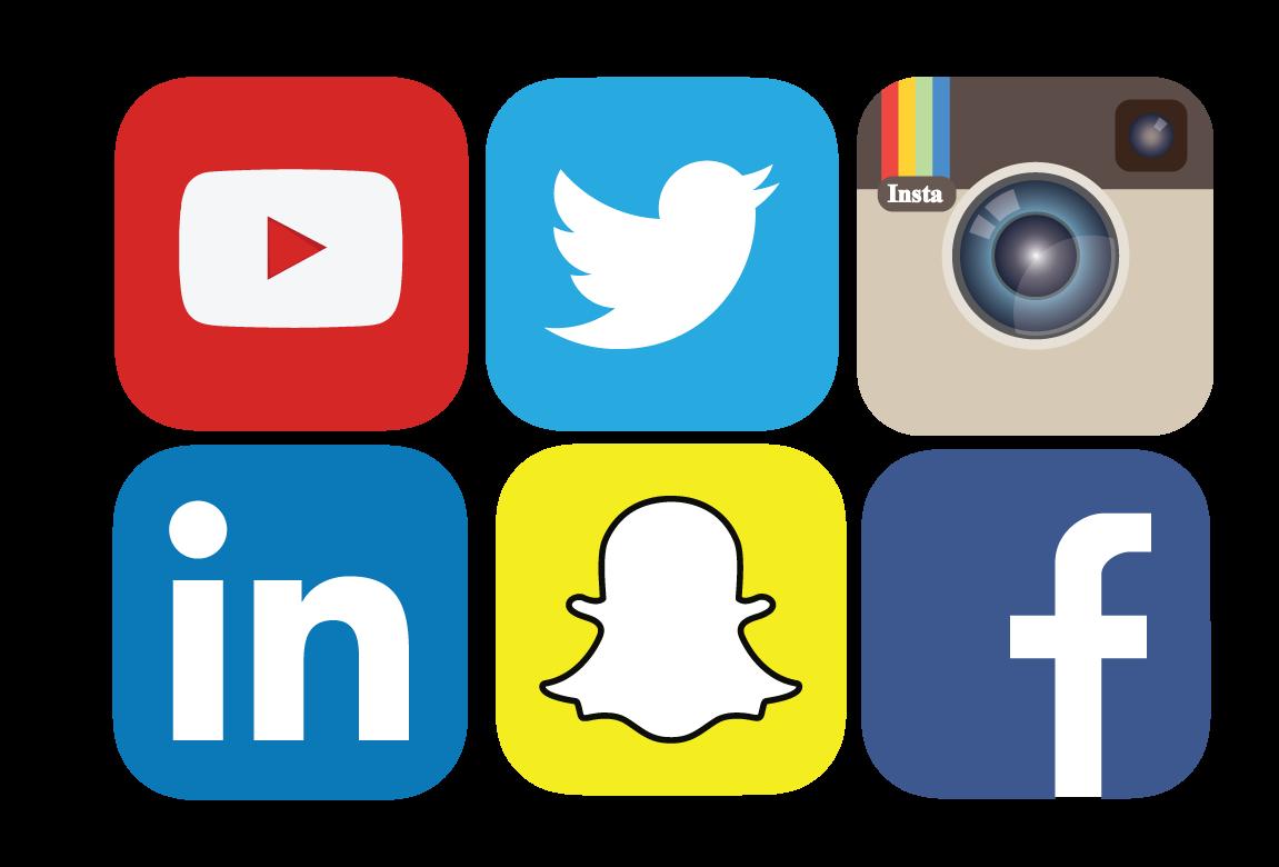 Social Media PNG File.