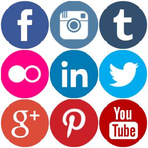 Social Media Clipart Transparent.