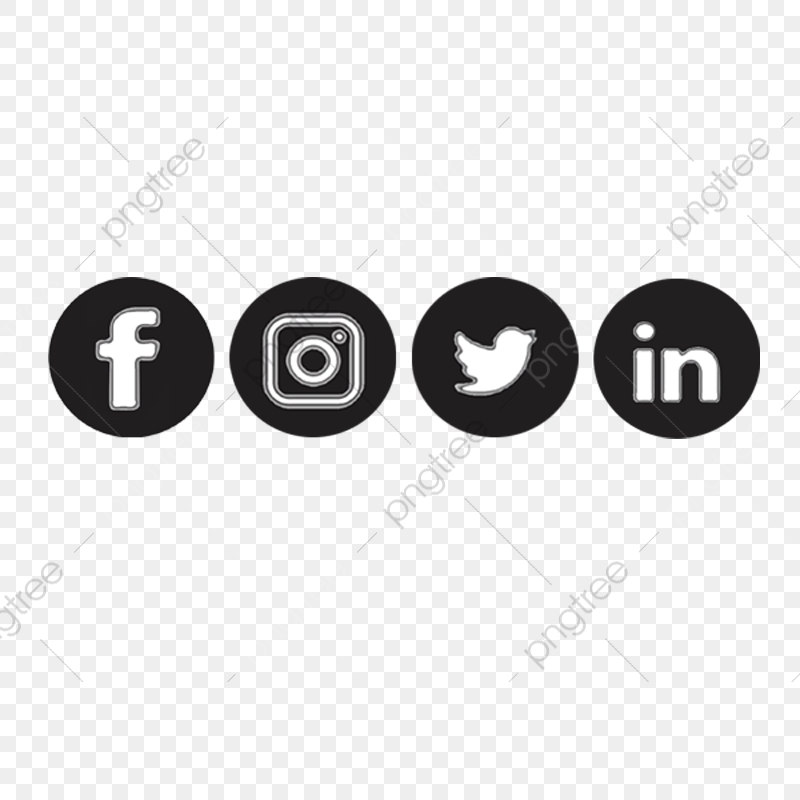Social Media Icons, Icon, Icon Vector PNG Transparent.