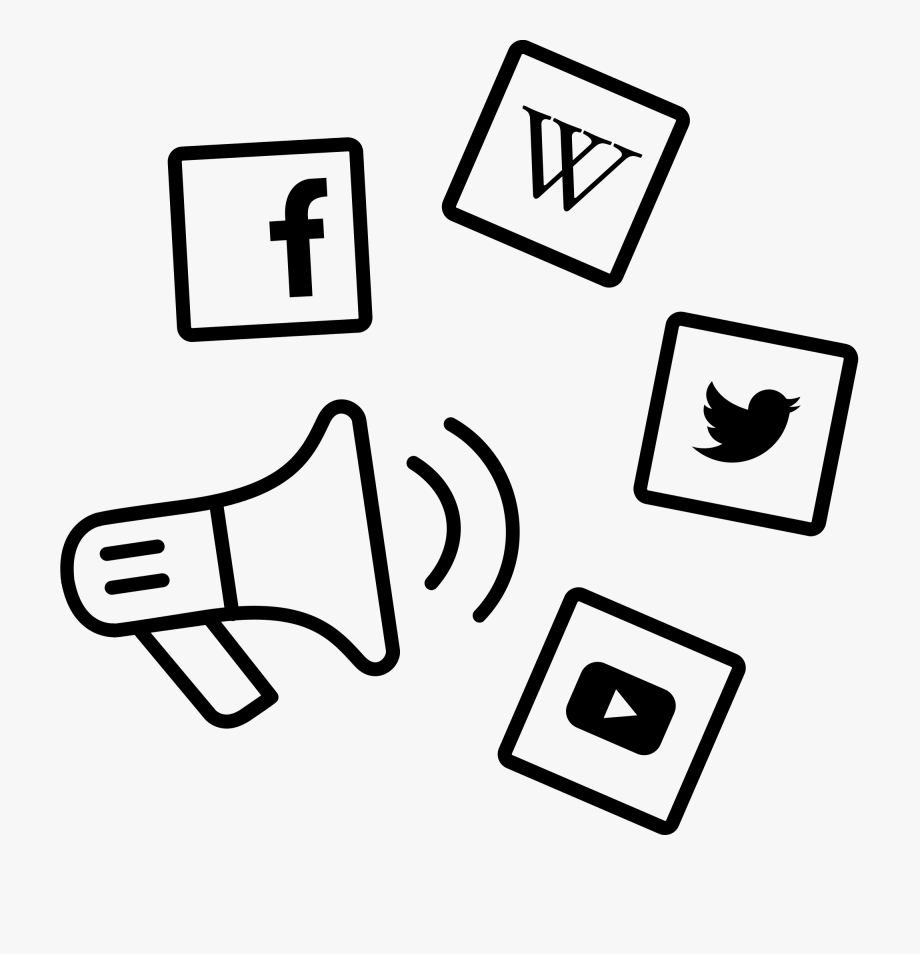 Transparent Social Media Marketing Icon Png.
